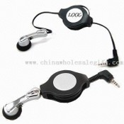 Retractable Portable Handsfree with Mini Earphone images