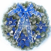 Decorated Noble Fir Wreath images