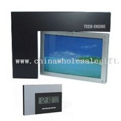 Revolving Cadre photo LCD Horloge images