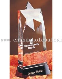 Allure Star Optic Crystal Awards