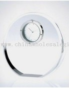 Beveled Crystal Circle Clock images