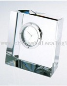 Slanted Crystal Block Clock images