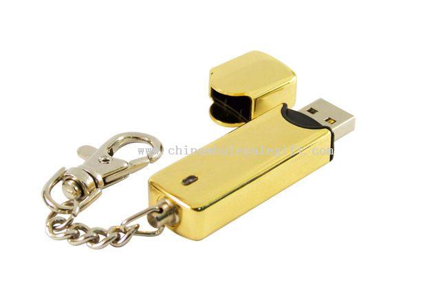Stylish metal USB flash drive