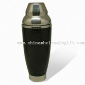 Plastic and Stainless Steel Cocktail Shaker with Capacity of 550mL images