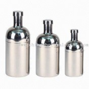 Stainless Steel Cocktail Shaker with Mirror Finish images