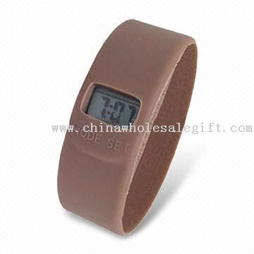 Silicone Watch Band with Hundred Percent High Silicone Material