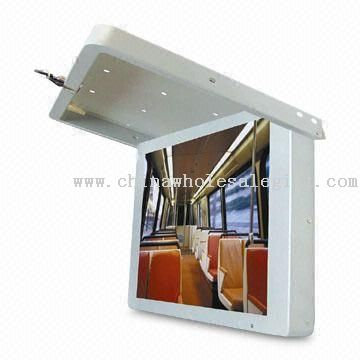 Flip Down Monitor for Bus/Car/Train