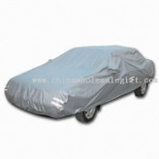 Car Cover with Reflective Security Belts images
