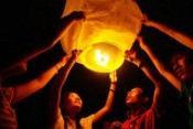 Flat Diamond Sky Lantern images
