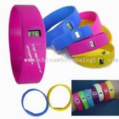 Silicone Watch Bands with Hundred Percent High Silicone Material images
