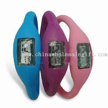 Reloj de silicona, correas de reloj, impermeable, con larga vida útil