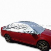 Anti-ultraviolet Car Sunshade, Non-woven Felt Covered by Aluminum Foil images