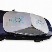 Car Sunshades with PU Water-resistant Tier images