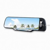 Bluetooth Handsfree Rear View Mirror Car Kit images