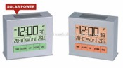 Solar Power LCD Clock images