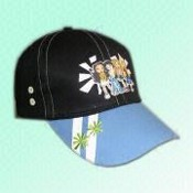 Childrens Baseball Cap with PVC Printing on the Front images