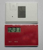 Credit Card Size LCD Clock images