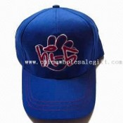 Six-panel Childrens Cotton Cap with Embroidery on Front images