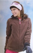 Ladies Snowboard Fleece Jacket images