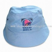 Bucket/Fishing Promotional Hat, Made of 100% Cotton Twill, Full Stitches on Brim images