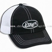 Cool Chino Twill Cotton Cap with Double Mesh Back and D-ring Closure images