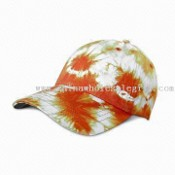 Womens Caps, Top Quality with Decoration in Print, Embroidery and Sequin images