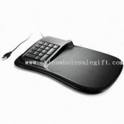 Mouse Pad USB Hub with Mini Keyboard and 10 to 90°C Hub Storage Temperature images