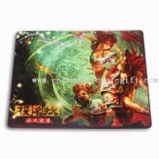 High-quality Natural Rubber Mouse Pad, Made of Nature Rubber/Cloth, EVA/Fabric, and SBR/Cloth images