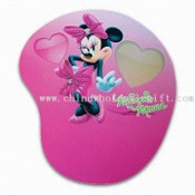 Mouse Pad with Lovely Mickey Cartoon Character, Made of Soft Rubber images