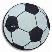 Souvenir Gift for 2010 World Cup, Used as Mouse Pad in Football Shape, Made of Rubber images