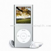 Flash MP4 Player with 1.5-inch CSTN Screen and Metal Back Casing images
