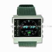 Multimedia Watch Player with 1.5-inch 260K TFT True Color Screen, Supports MP3/MP4 Formats images