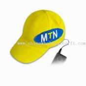 Music Hat Speaker with Earphone and Inner Speaker, Suitable for Computer, MP3 Player and iPod images