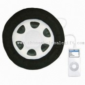 Speaker for iPod /MP3 Speaker with 25cm Diameter, Suitable for Home, Office and Travel Use images