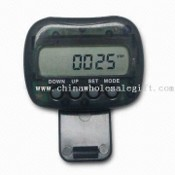 Pedometer with Step, Distance, and Calorie Counters images