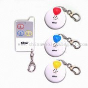Wireless Electronic Key Finder, Convenient for Hanging on or Sticking to the Things images