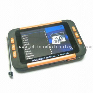 3.5-inch MP5 Player with ISDB-T TV Function, Supports AVI Movie Format