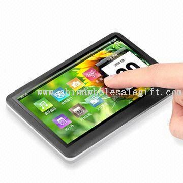 4.3-inch MP5 Player with Touchscreen, Supports AVI, RM, and RMVB Movie Formats