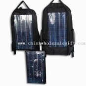 Laptop Solar Charger with 18V/1,180mA Panel and 12.6V AC/DC Input Voltage images