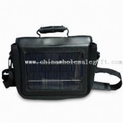 Solar Laptop Charger/Bag with 18V DC, 600mA Input and 8 to 10 Hours Charging Time images