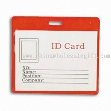 ID Card Holder, Made of PVC, Available in Red Color images