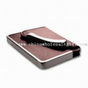 Purse Designed Fangled Leather Business Card Holder, Customized Colors are Welcome images
