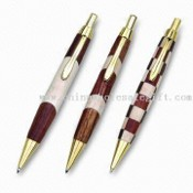 Wooden Pen with Metal Clip, Made of Rose Wood images