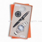 3-piece Ball Pen/Watch/Keychain Stationery Gift Set, Knife and Other Items are Available images