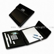 Full Size Notepad with Snaps and Lanyard Strap images