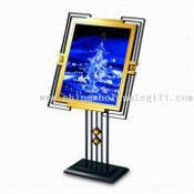 Menu Stand, Made of Steel Iron and Stainless Steel, Measures 810 x 690 x 1,300mm images
