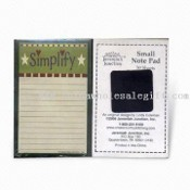 Notepad with Magnetic Strip, OEM Orders are Welcome images
