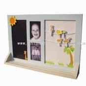 Photo Frame Memo Board with Clips images