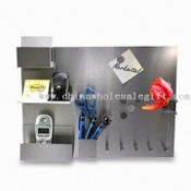 Stainless Steel Message/Memo Board, Measures 35 x 48 x 1.5cm images