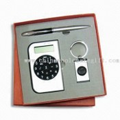 Three-piece Stationery Gift Set, Includes Calculator, Various Other Items are Also Available images